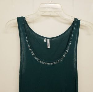 Studio Y Tops - Like New! Emerald Green Dressy Tank